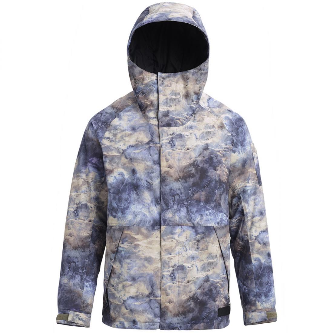мужская куртка burton, синяя