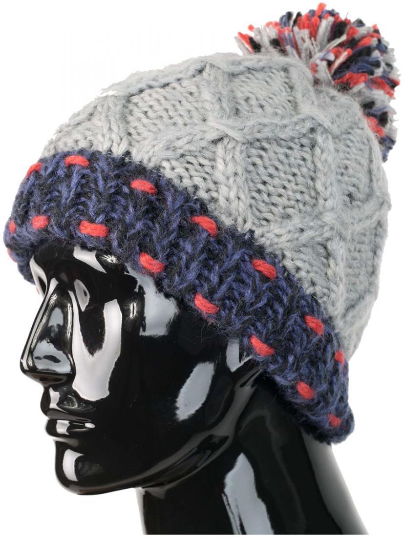 женская шапка chaos, бордовая