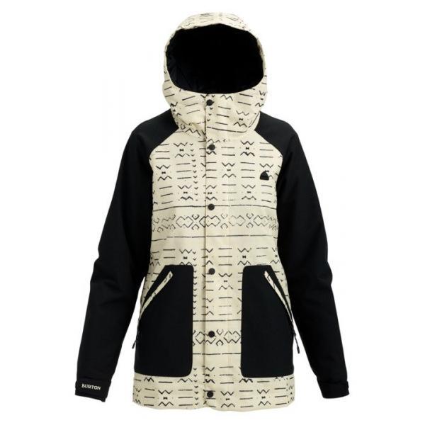 женская куртка burton, бежевая