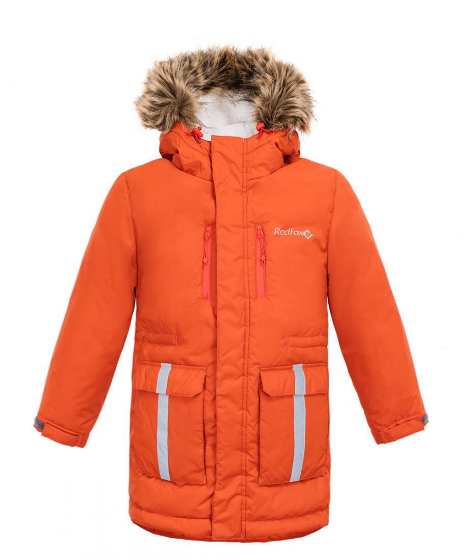 детская куртка red fox, фиолетовая
