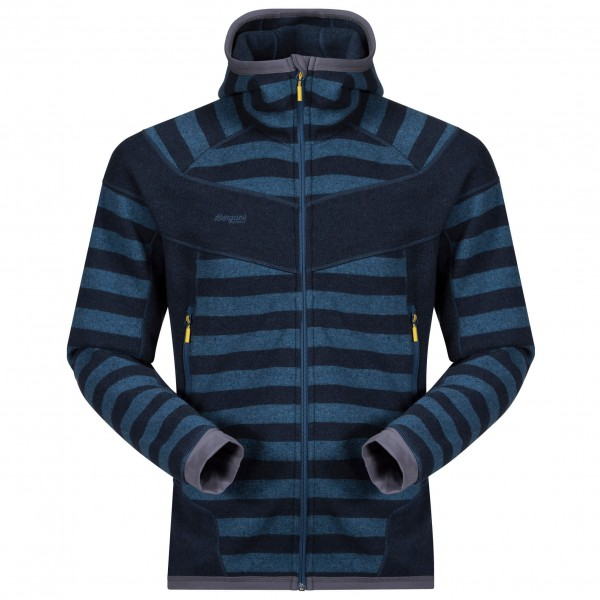 *Куртка Hollvin Wool Jkt муж. Bergans синего цвета