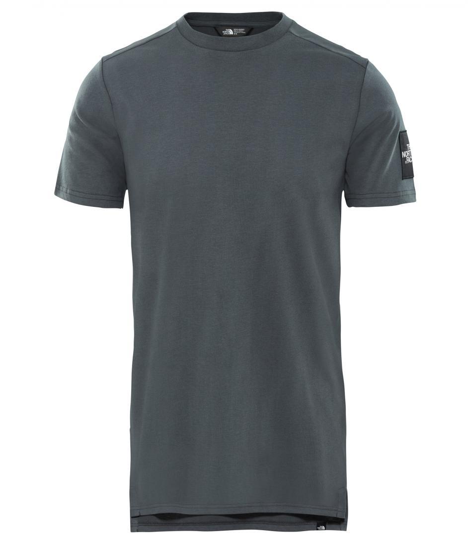 мужская футболка the north face, серая