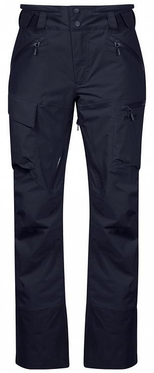 женские брюки bergans, синие