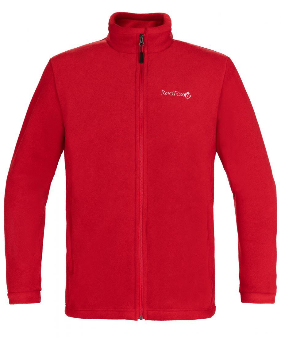 мужская куртка red fox, красная