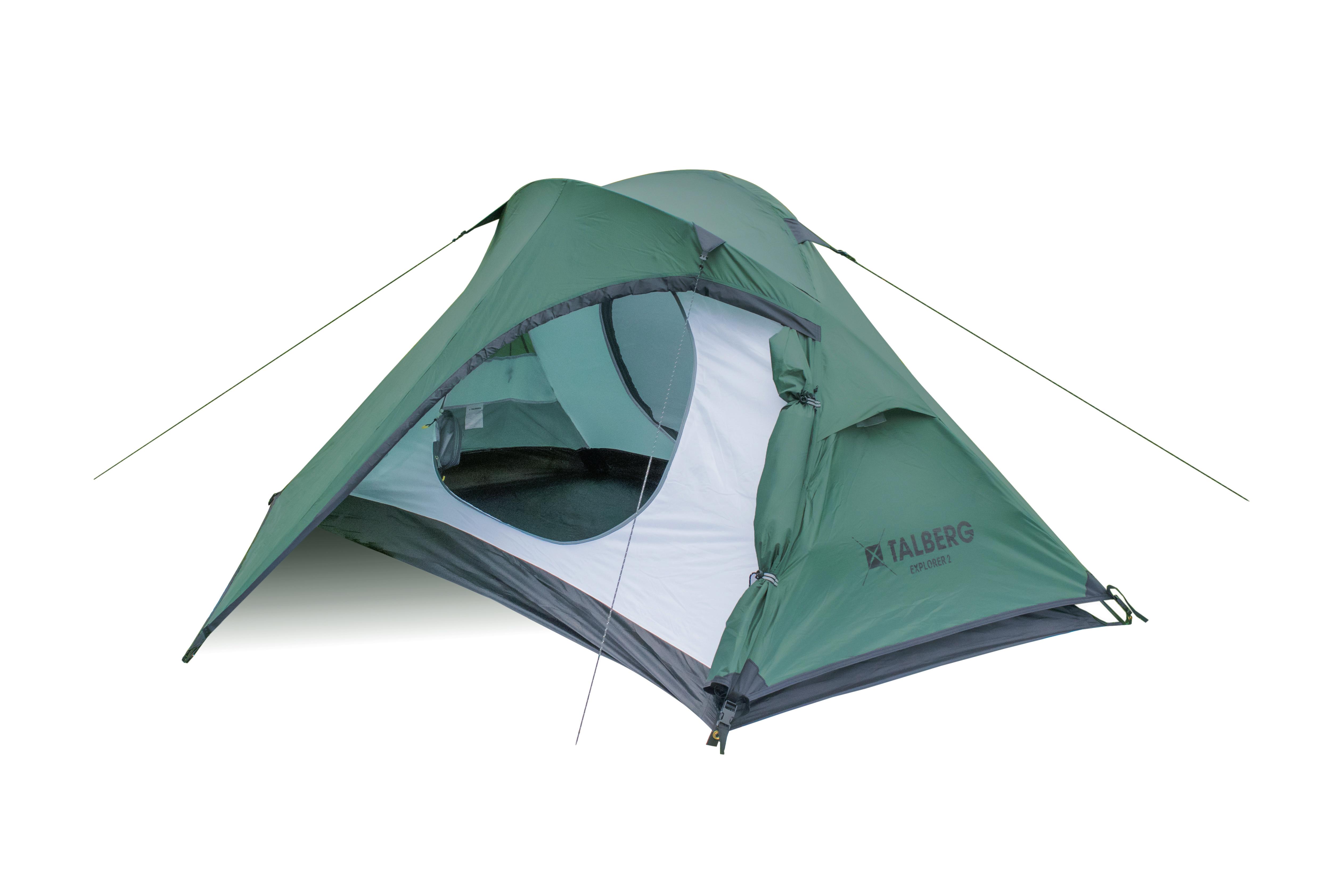 EXPLORER 2 палатка Talberg (зелёный)