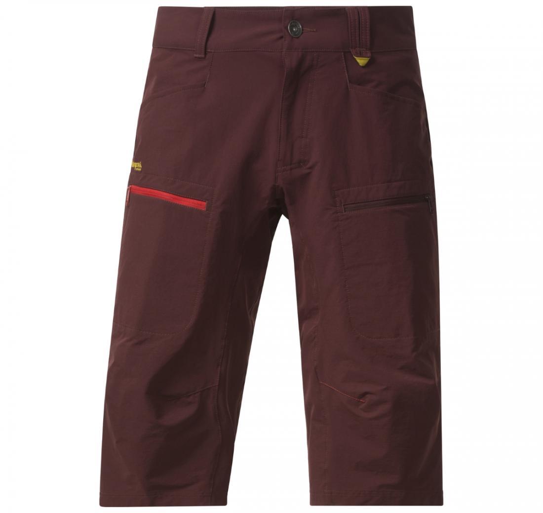 мужские брюки bergans, бордовые