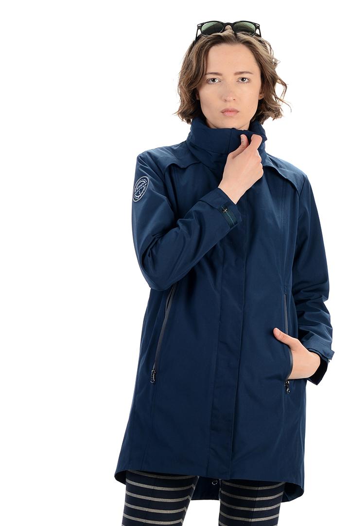 женская ветровка stayer, синяя