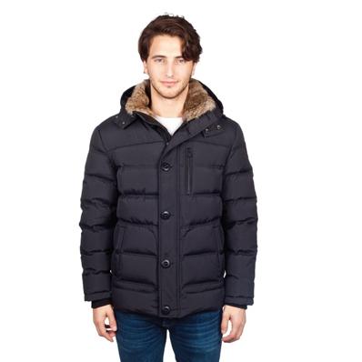 мужская куртка pajar, черная