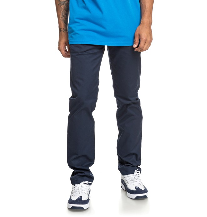 БРЮКИ WORKER SLIM M NDPT BTL0 Dc Shoes