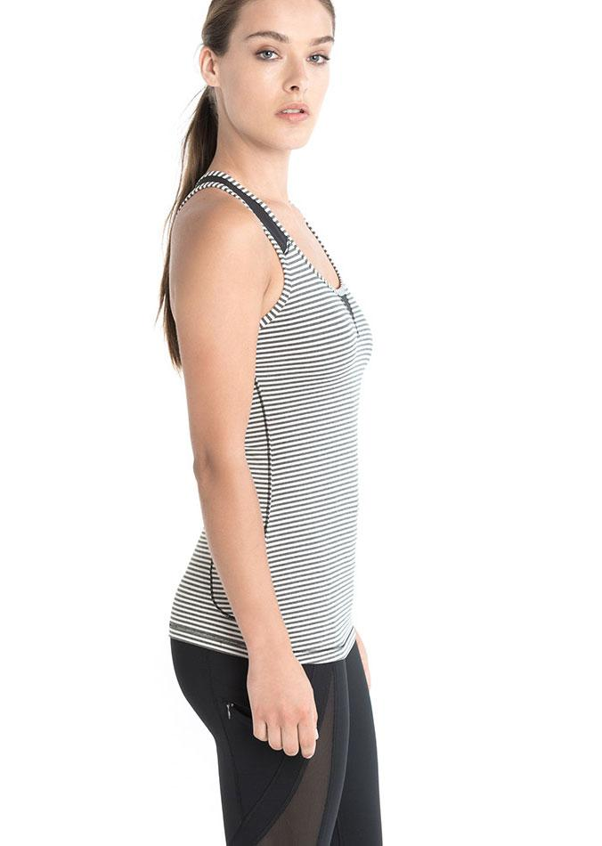 Топ LSW1460 TWIST TANK TOP (M, BLACK STRIPE, ,) купить в Boardshop №1