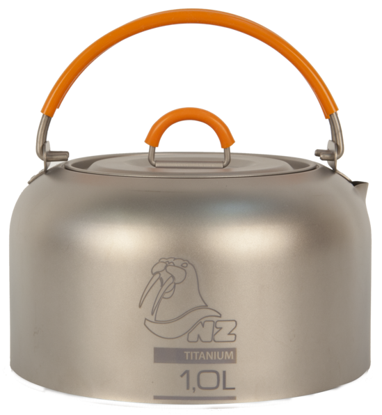 Чайник NZ TK-101 титан. Чайник NZ TK-101 титановый Серый