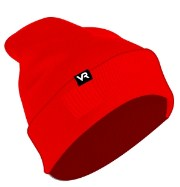 женская шапка vr, зеленая