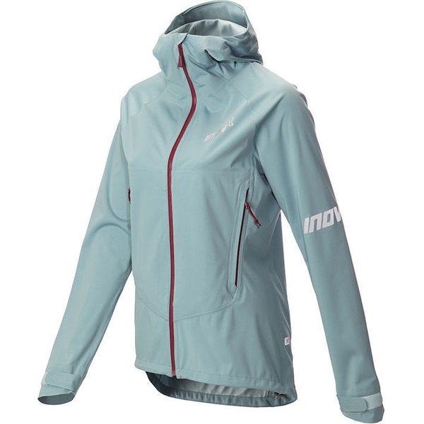женская куртка inov-8, голубая