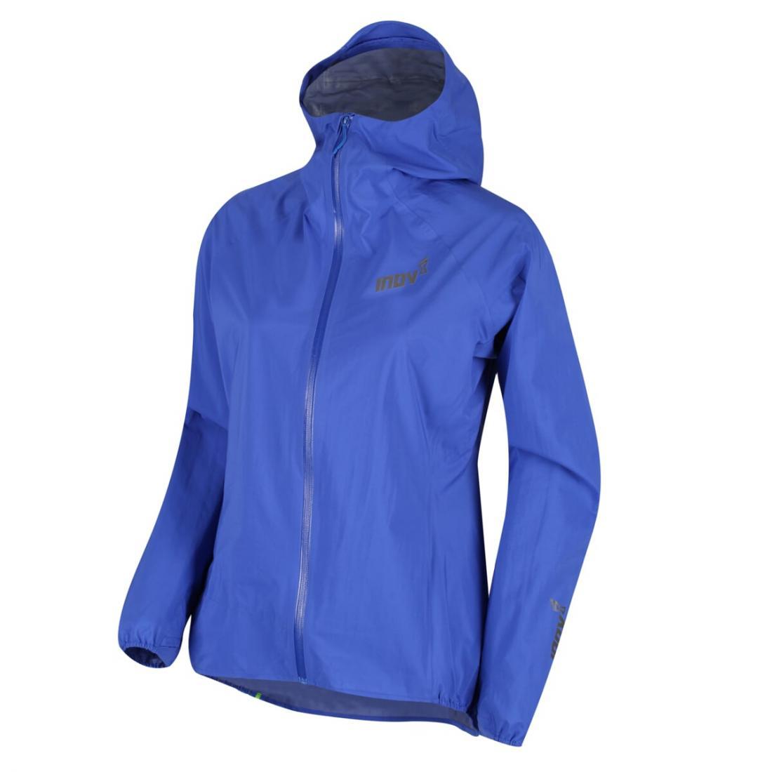 Куртка AT/C STORMSHELL FZ W Inov-8 синего цвета