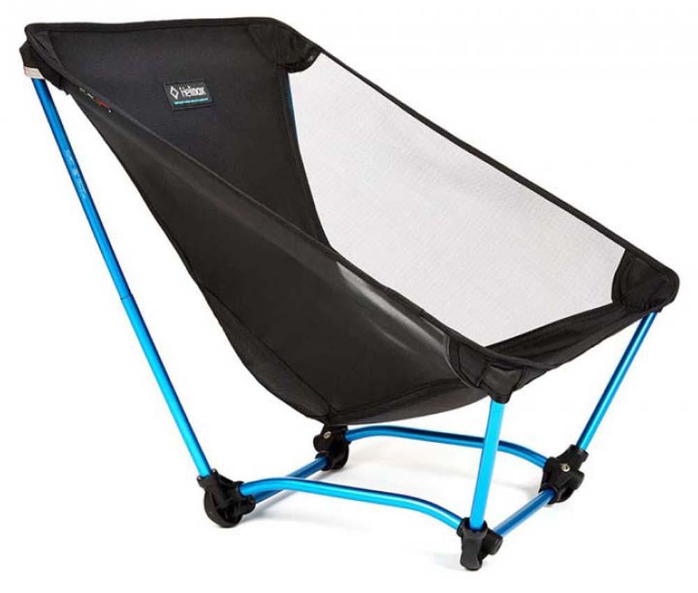 Стул Ground Chair Helinox, цвет черный