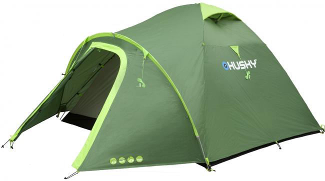 BIZON 3 палатка (зеленый)