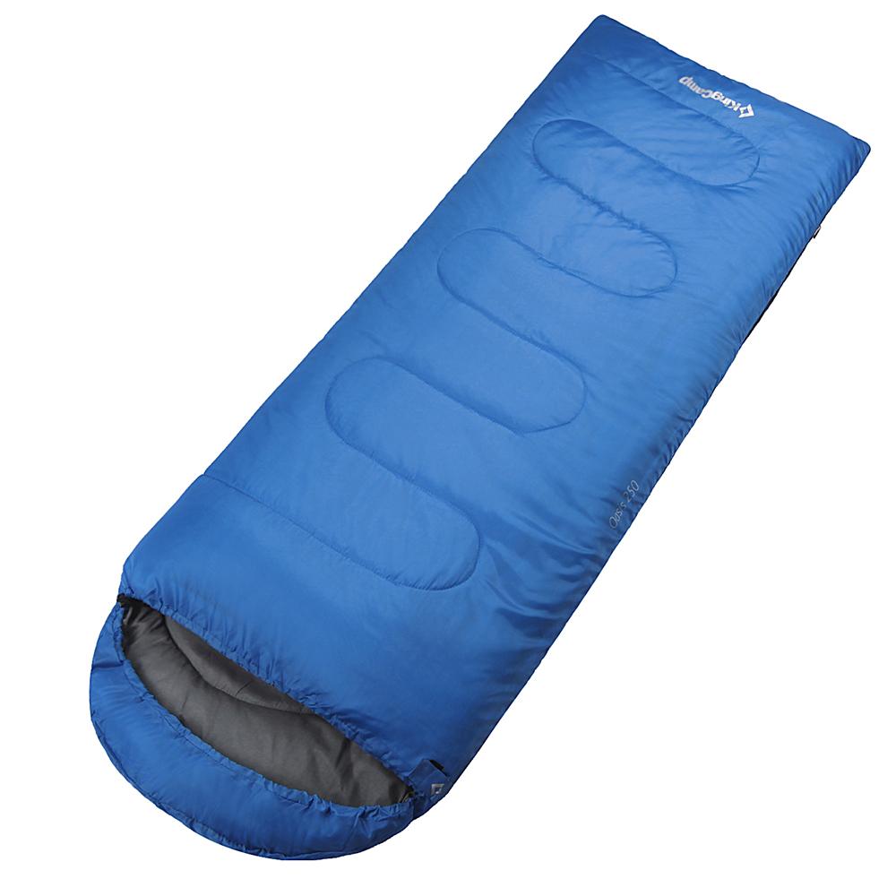 3155 OASIS 300 -13С 190+30x80 спальный мешок (синий, от King Camp
