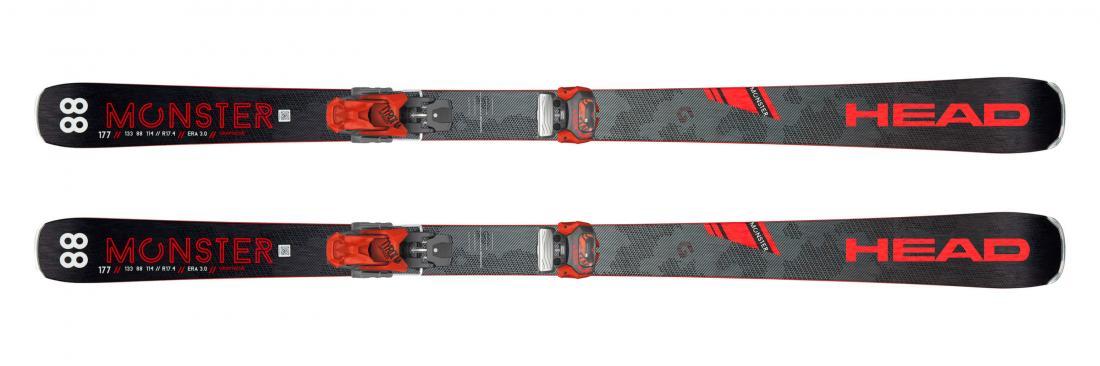 Комплект (Лыжи+Крепления) Monster 83 Ti SW+ATTACK² 13 GW BRAKE 95 [A]
