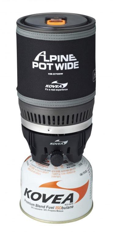 Набор Kovea  посуды Alpine Pol с горелкой KB-0703
