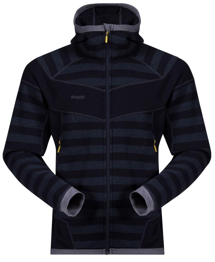 *Куртка Hollvin Wool Jkt муж. Bergans темно-синего цвета