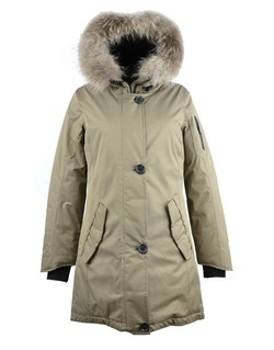 фото Куртка утепленная с мехом женская Montana ll
