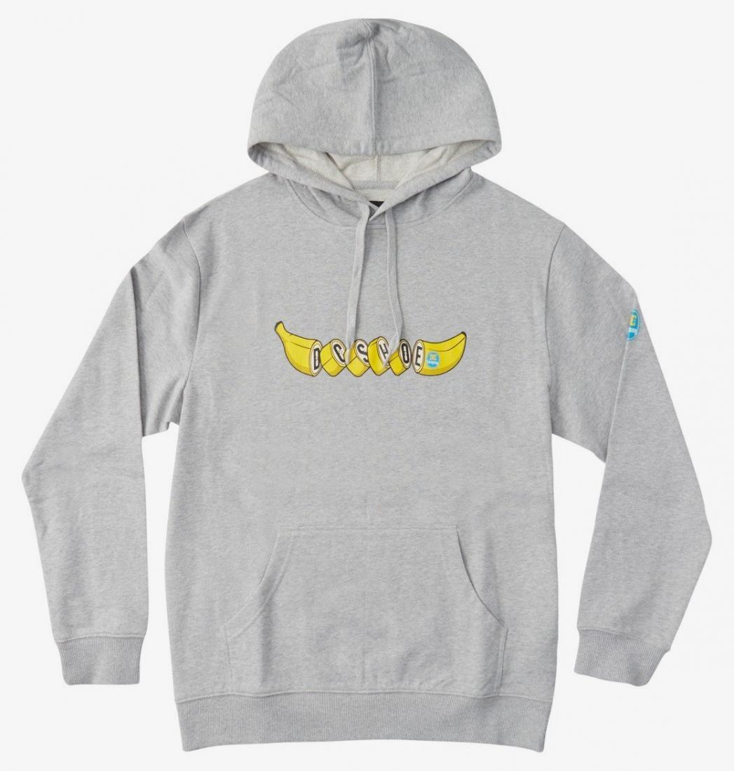 Толстовка DC shoes Bananas серого цвета