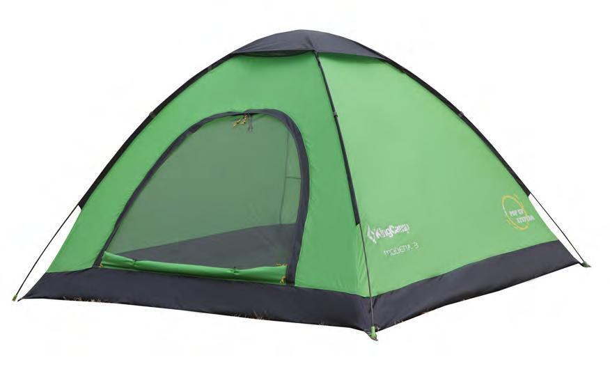 3037 MODENA 3 палатка (3, зелёный) от King Camp