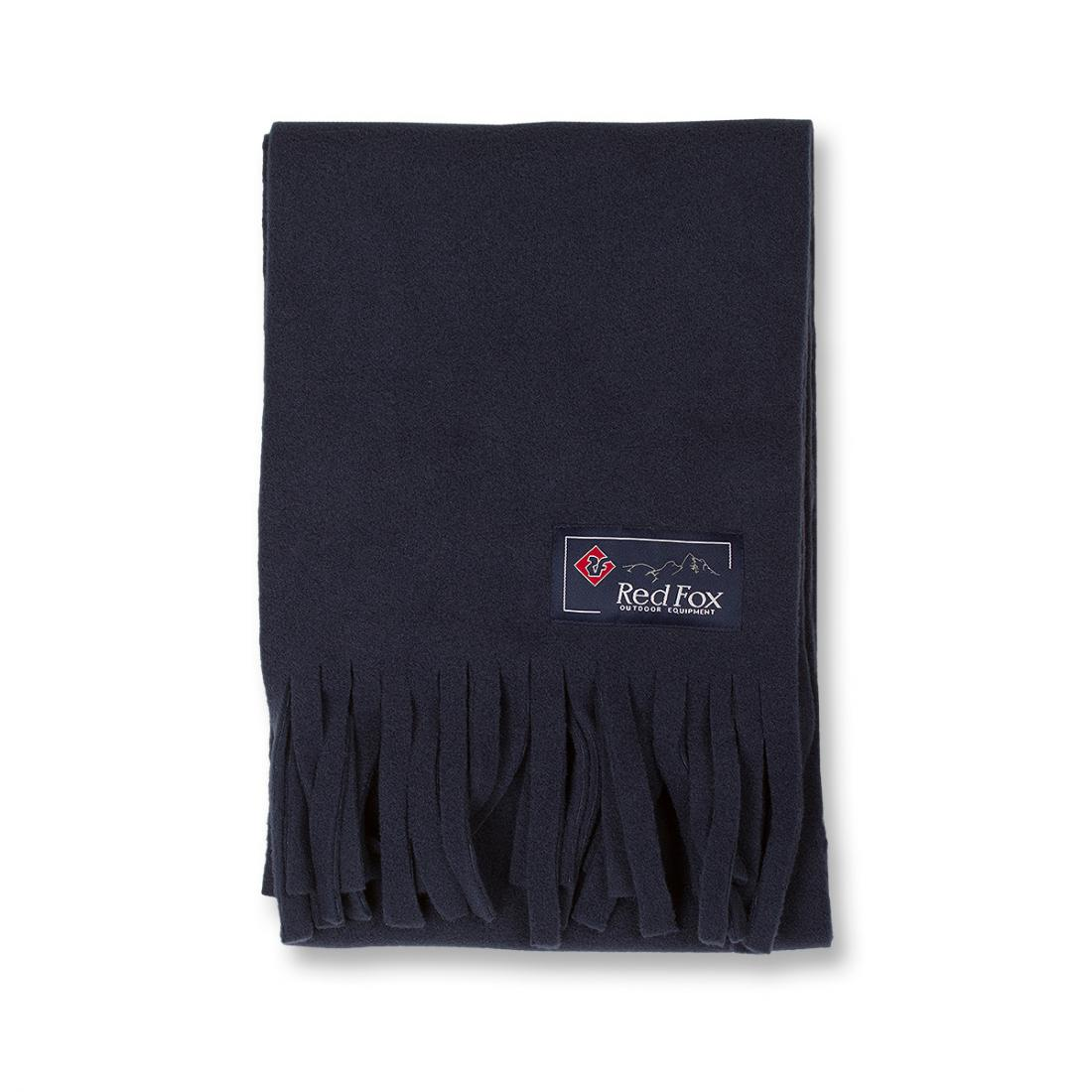 мужской шарф red fox, синий
