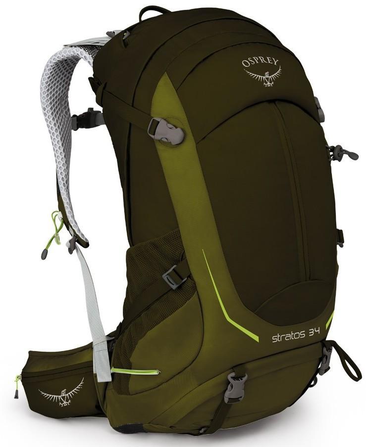 Рюкзак Stratos 34 Osprey (S/M, Gator Green, , ,)