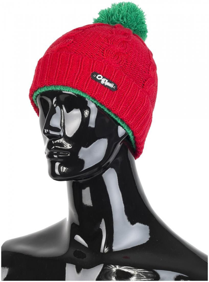 детская шапка chaos, красная