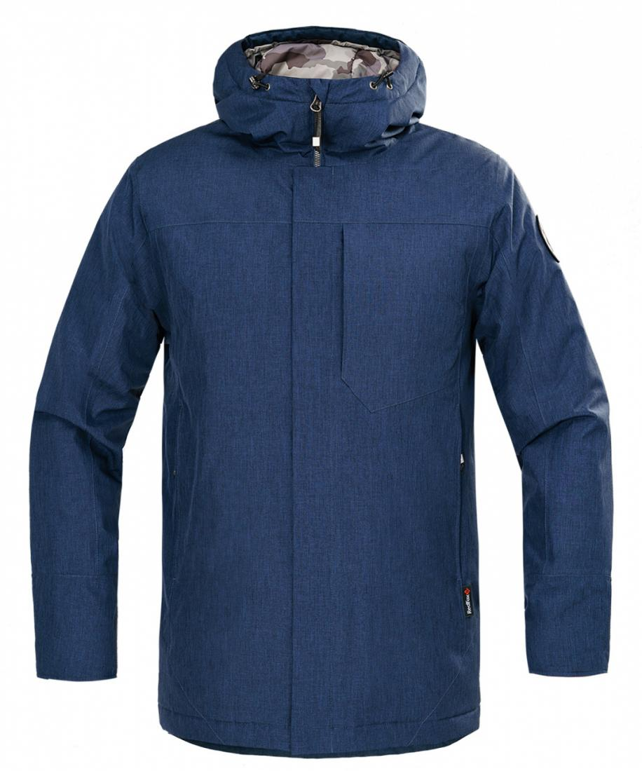 мужская куртка red fox, синяя