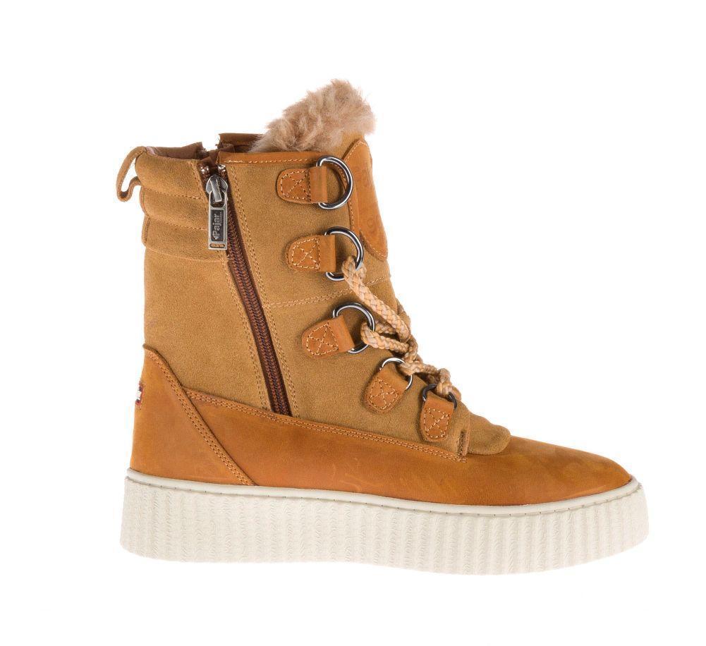 женские ботинки pajar, коричневые