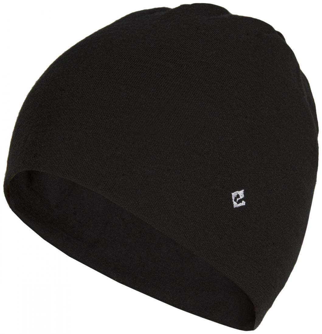 мужская шапка red fox, черная