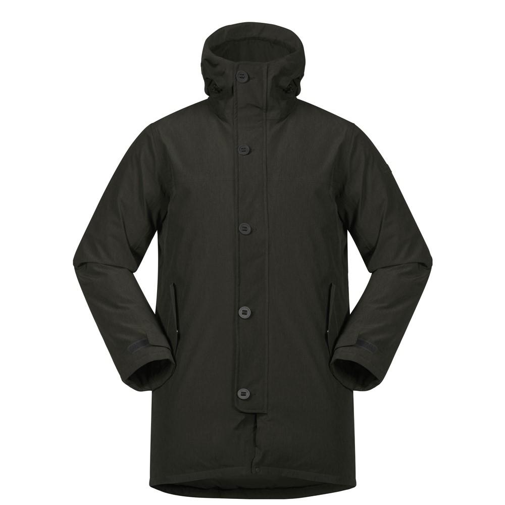 *Куртка Oslo Down Parka Bergans коричневого цвета