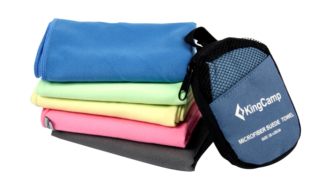 3611 HikerMicroFibre Towel 30x60см полотенце гладкое, синий King Camp