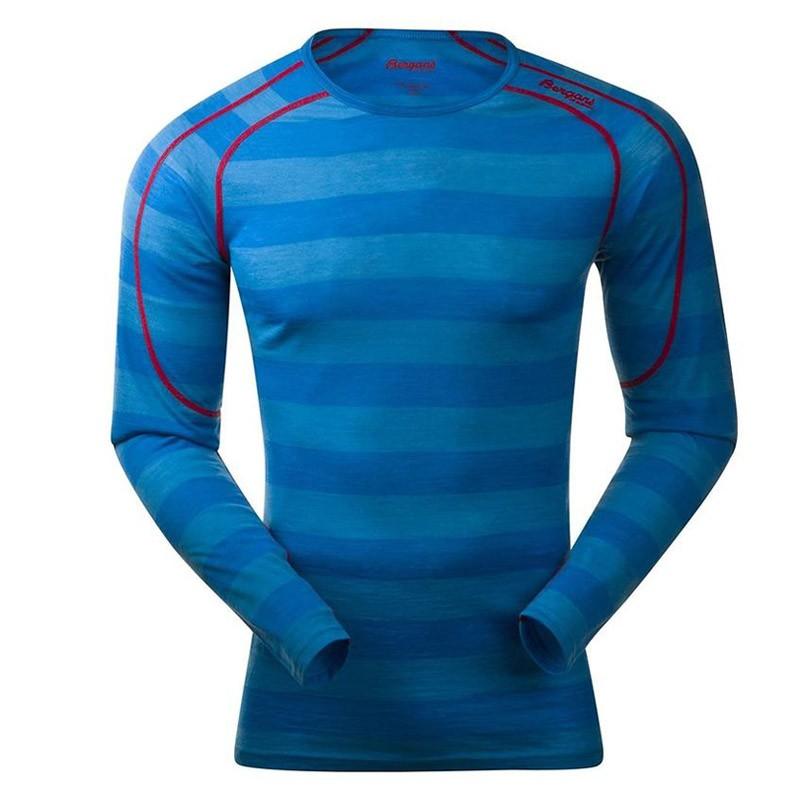 мужская футболка bergans, синяя