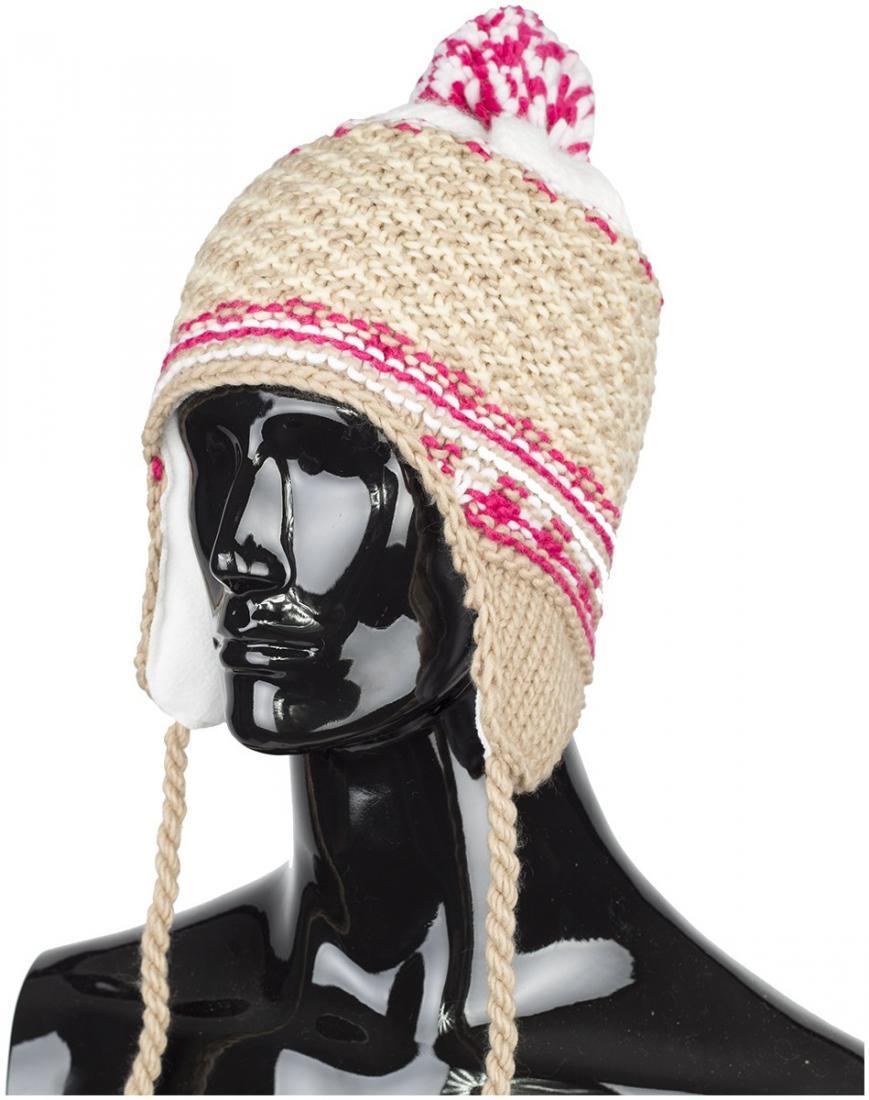 женская шапка chaos, бежевая