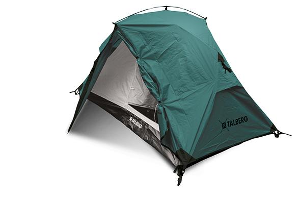 BORNEO 2 палатка Talberg (зелёный/желтый)