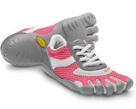 Мокасины FIVEFINGERS SPEED Kids д/девоч. от VIBRAM