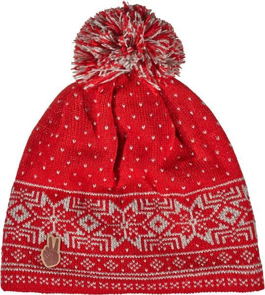 мужская шапка seger, красная