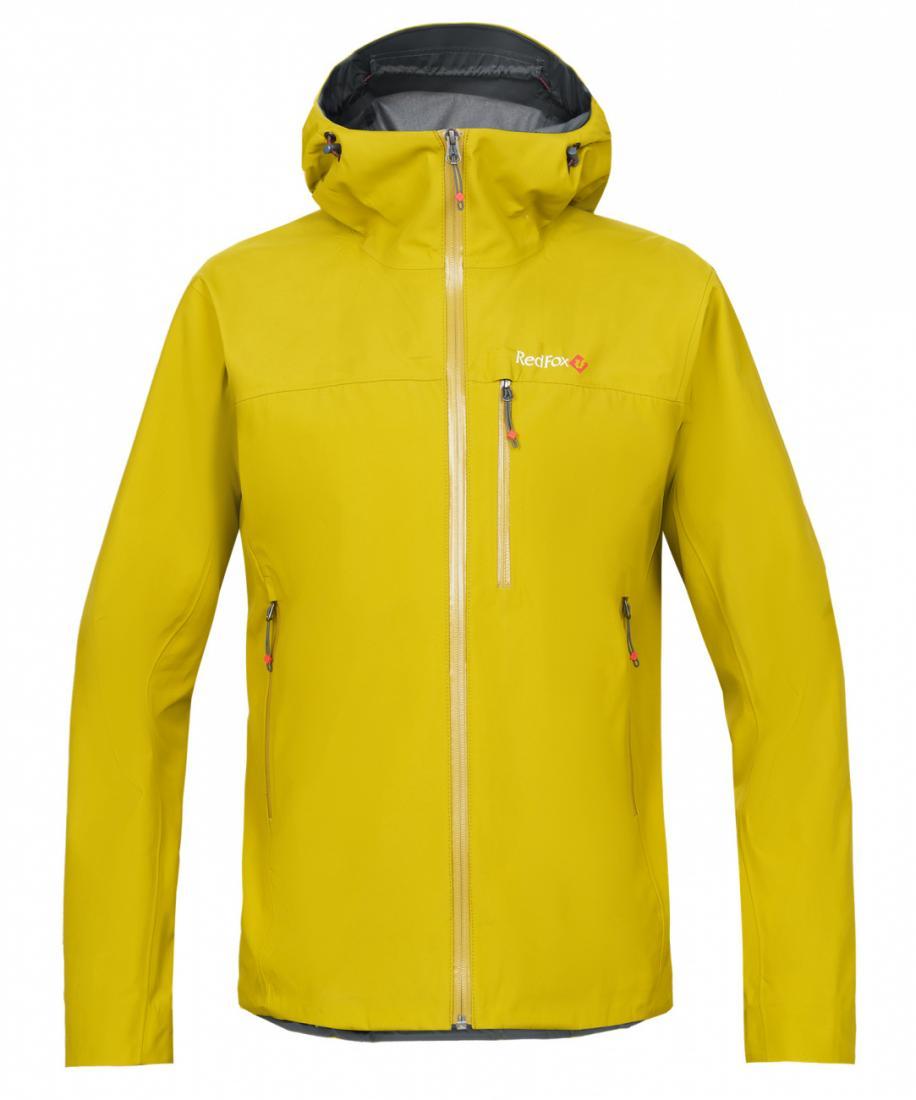 мужская куртка red fox, желтая